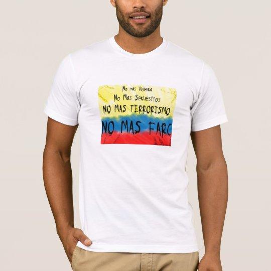 Colombia contra las farc T-Shirt