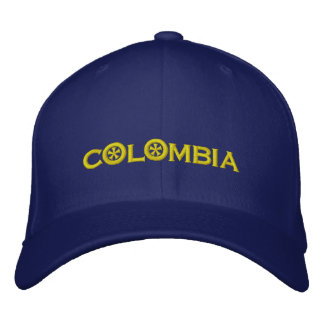 Colombia Embroidered Hat