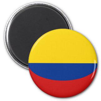 Colombia Fisheye Flag Magnet
