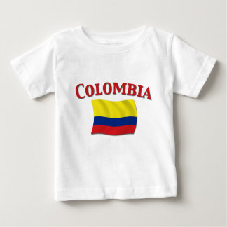 Colombia Flag 3 Baby T-Shirt