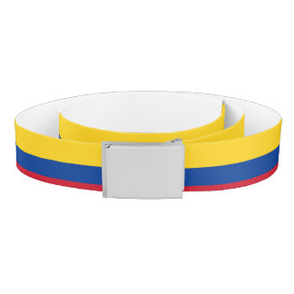 Colombia Flag Belt