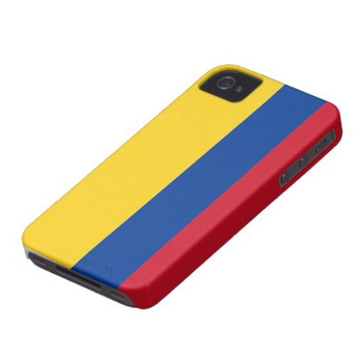 Colombia Flag iPhone 4 Case-Mate Cases