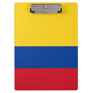 Colombia Flag Clipboard
