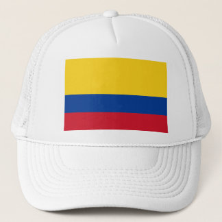 Colombia flag CO Trucker Hat