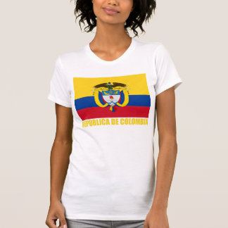 Colombia Flag & Coat of Arms T-Shirt