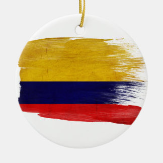 Colombia Flag Ornaments