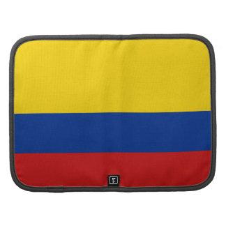 Colombia Flag Folio Organizer