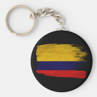 Colombia Flag Key Ring