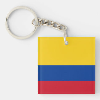 Colombia Flag Keychain