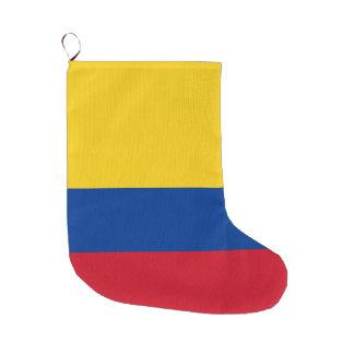 Colombia Flag Large Christmas Stocking
