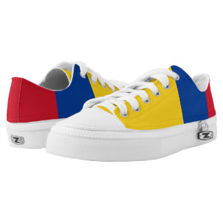 Colombia Flag Low Top Shoes