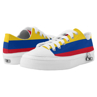 Colombia Flag Low Tops