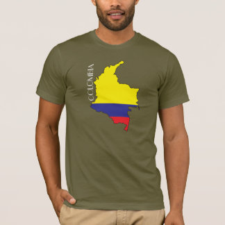Colombia Flag-Map Shirt