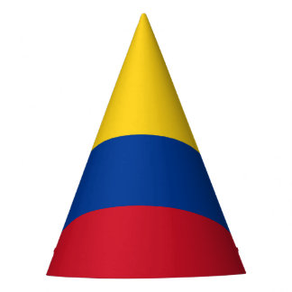 Colombia Flag Party Hat