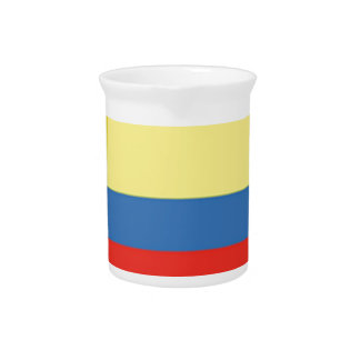 Colombia Flag Pitcher