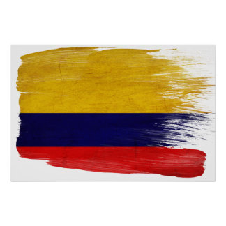 Colombia Flag Posters