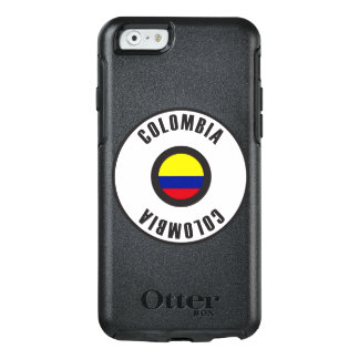 Colombia Flag Simple OtterBox iPhone 6/6s Case