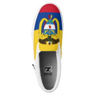 Colombia Flag Slip On Shoes
