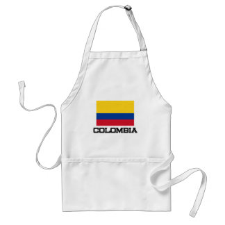 Colombia Flag Standard Apron