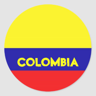 Colombia Flag stickers