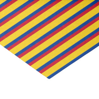 Colombia Flag Tissue Paper