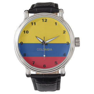 Colombia Flag Watch
