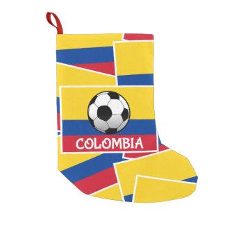 Colombia Football Small Christmas Stocking