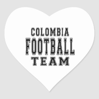 Colombia Football Team Stickers