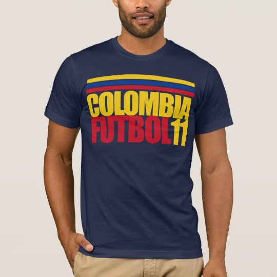 Colombia Futbol 11 Tee