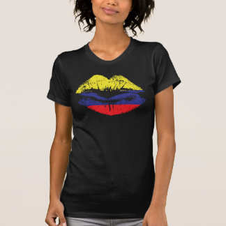 Colombia lips tank top design for women