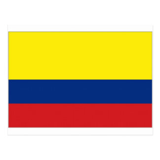 Colombia National Flag Postcard