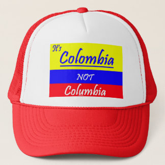 Colombia not Columbia ball CAP