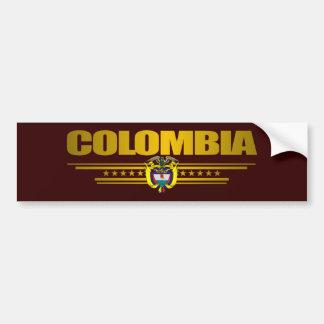 """""""Colombia Pride"""" Bumper Sticker"""