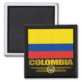 """Colombia Pride"" Square Magnet"