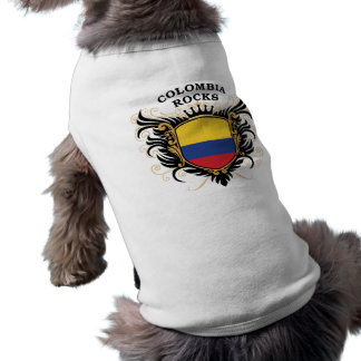 Colombia Rocks Sleeveless Dog Shirt