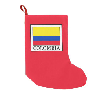 Colombia Small Christmas Stocking