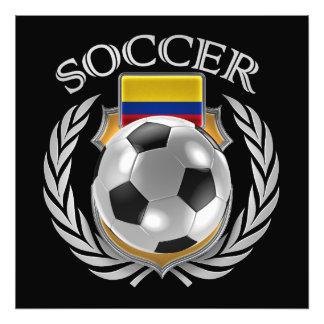 Colombia Soccer 2016 Fan Gear Art Photo
