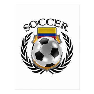 Colombia Soccer 2016 Fan Gear Postcard