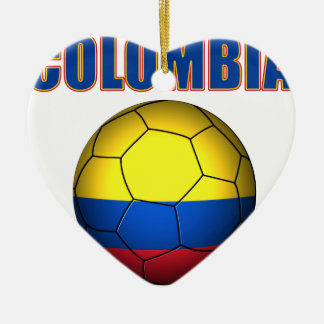 Colombia Soccer  2710 Christmas Ornaments
