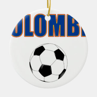 Colombia Soccer  3733 Christmas Ornament