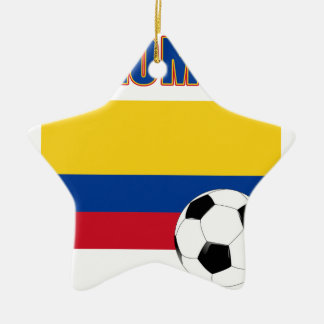 Colombia Soccer  4032 Christmas Ornament