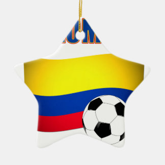 Colombia Soccer  5116 Christmas Ornament