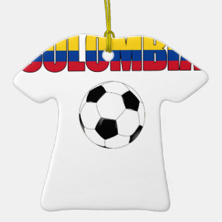 Colombia Soccer  5655 Christmas Tree Ornaments