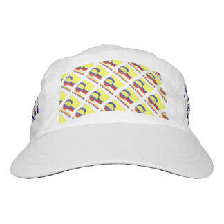 Colombia Soccer Ball and Flag Hat