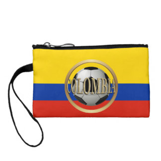 Colombia Soccer Ball Coin Wallet