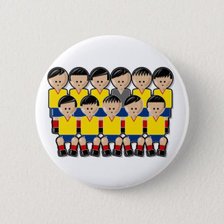 Colombia soccer team 6 cm round badge