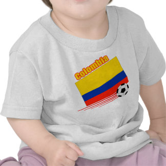 Colombia Soccer Team T Shirt