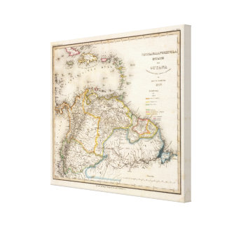 Colombia, Venezuela, South America Canvas Print