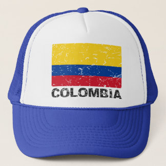 Colombia Vintage Flag Trucker Hat