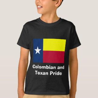 Colombian and Texan Pride T-Shirt